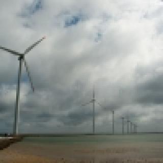 Duńskie wiatraki - Ronland Windpark (fot. z wolnych zasobów)