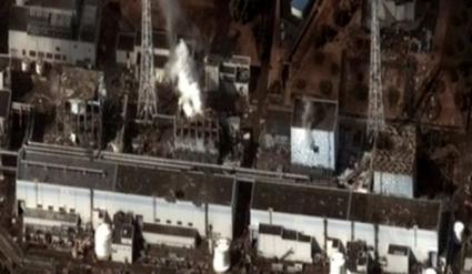Pożar w budynku reaktora 4