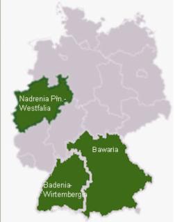 Nadrenia, Badenia Wirtembergia i Bawaria łakną prądu z północy