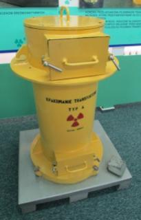 Pojemnik na odpady promieniotwórcze