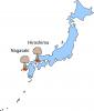 Hiroszima i Nagasaki, na które spadły pierwsze na świecie bomby atomowe