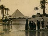 Piramida Cheopsa w XIX wieku (fot. z domeny publicznej)